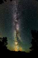 Milky Way In 8 mm
